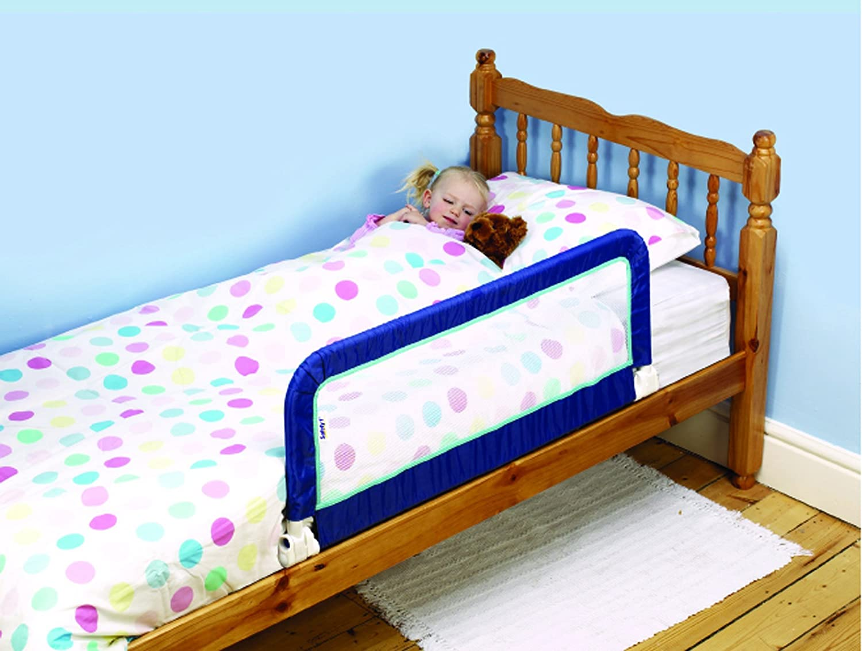 kids childrens toddlers compact foldable portable safety bed rail barrier post ebay. Black Bedroom Furniture Sets. Home Design Ideas
