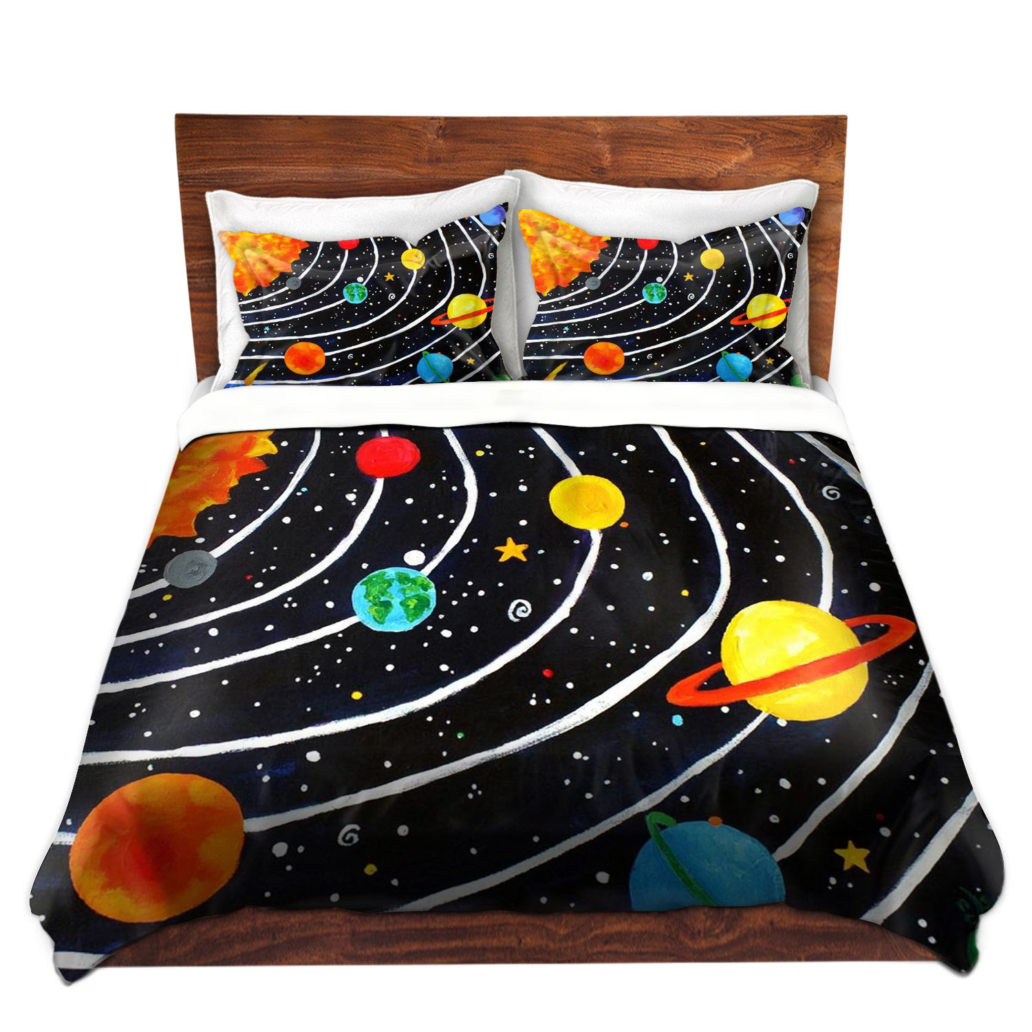 Solar System Bedroom : Beautiful Solar System Bedding – Ease Bedding with Style