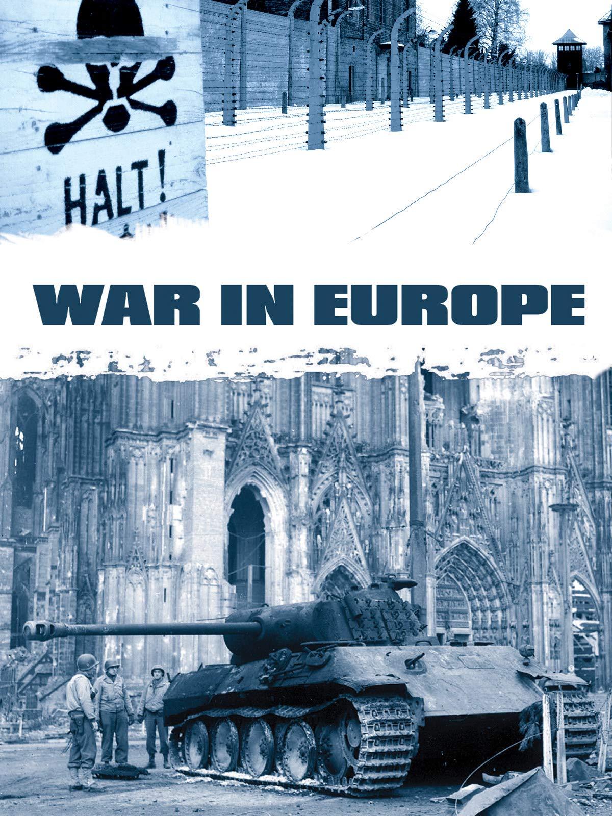 War In Europe on Amazon Prime Video UK