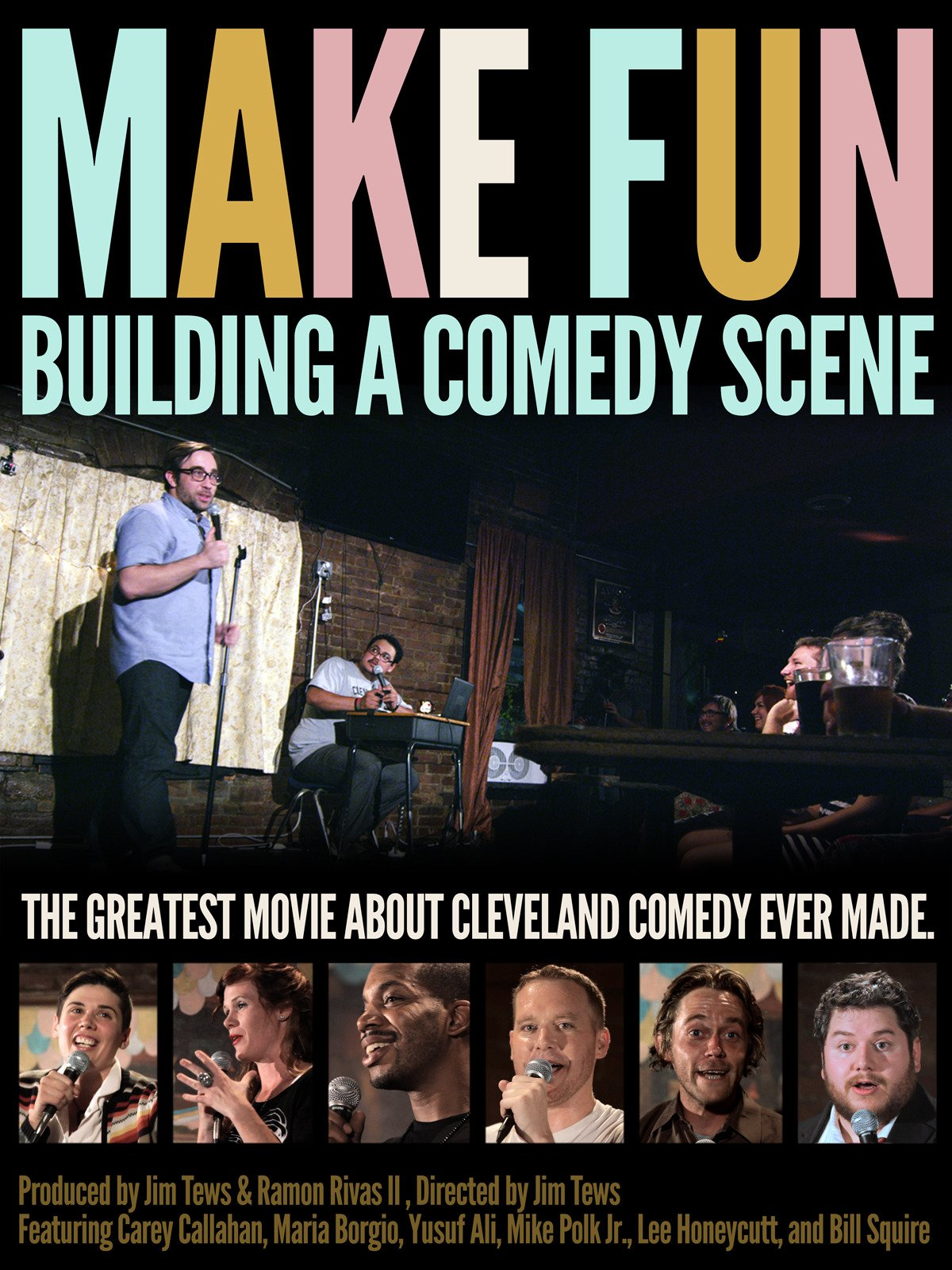 Make Fun: Building a Comedy Scene