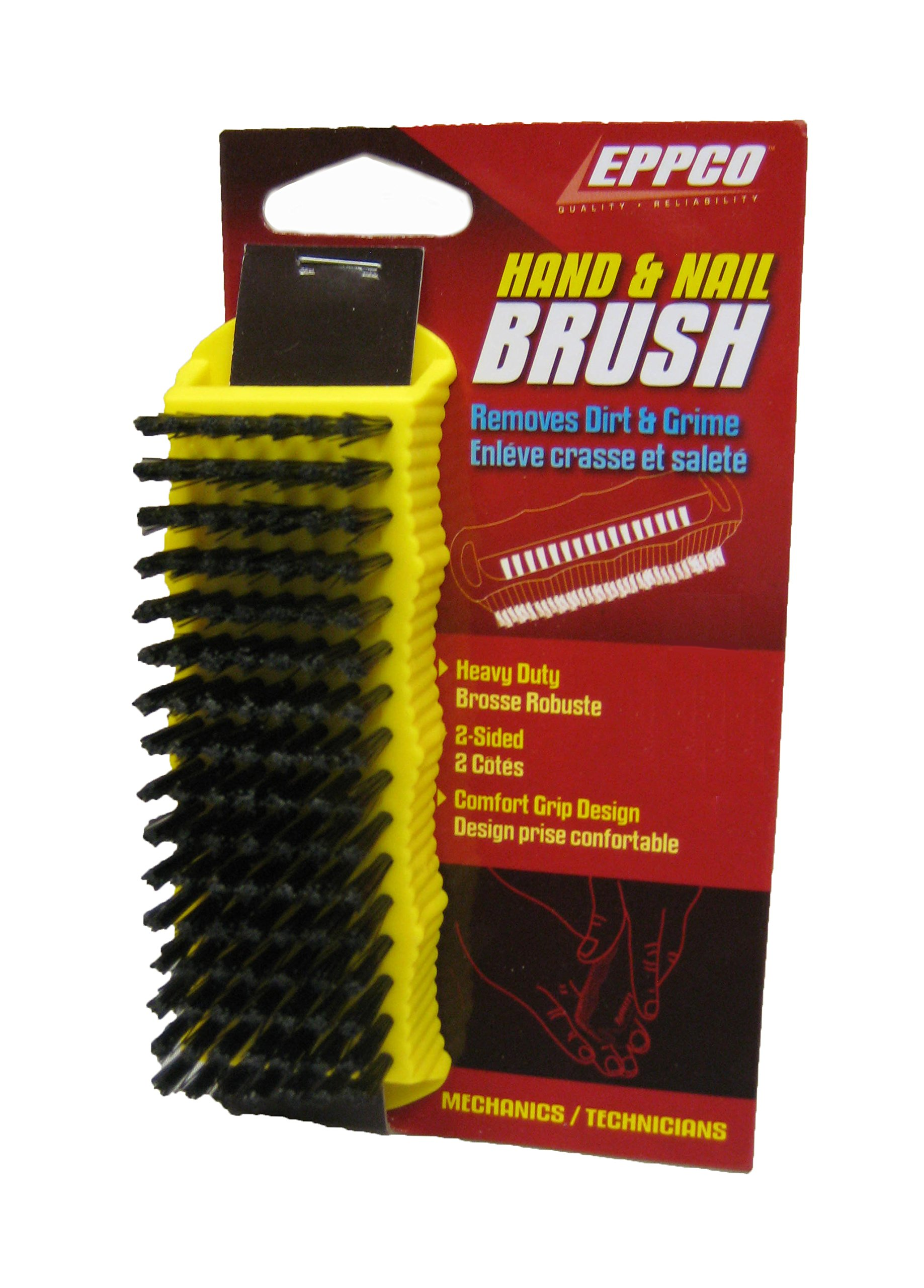 Hand Nail Brush Heavy Duty Mechanic Two Sided Gardener