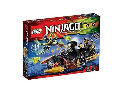 LEGO Ninjago- 70733 - Playthèmes - Jeu de Construction - La Moto Multi-missiles
