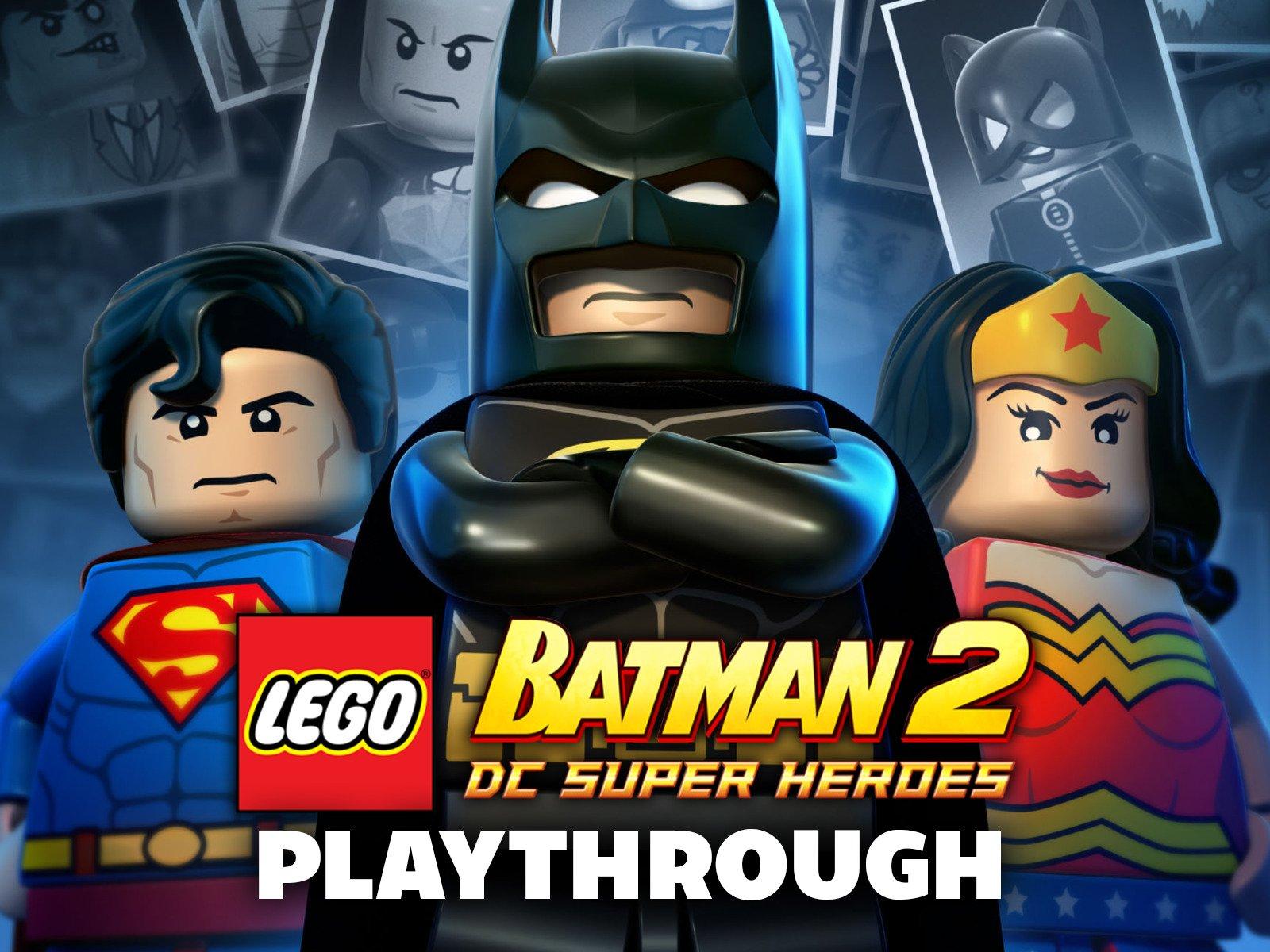 Clip: Lego Batman 2 : DC Super Heroes Playthrough - Season 1