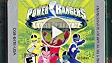 Classic Game Room - POWER RANGERS TIME FORCE Game...