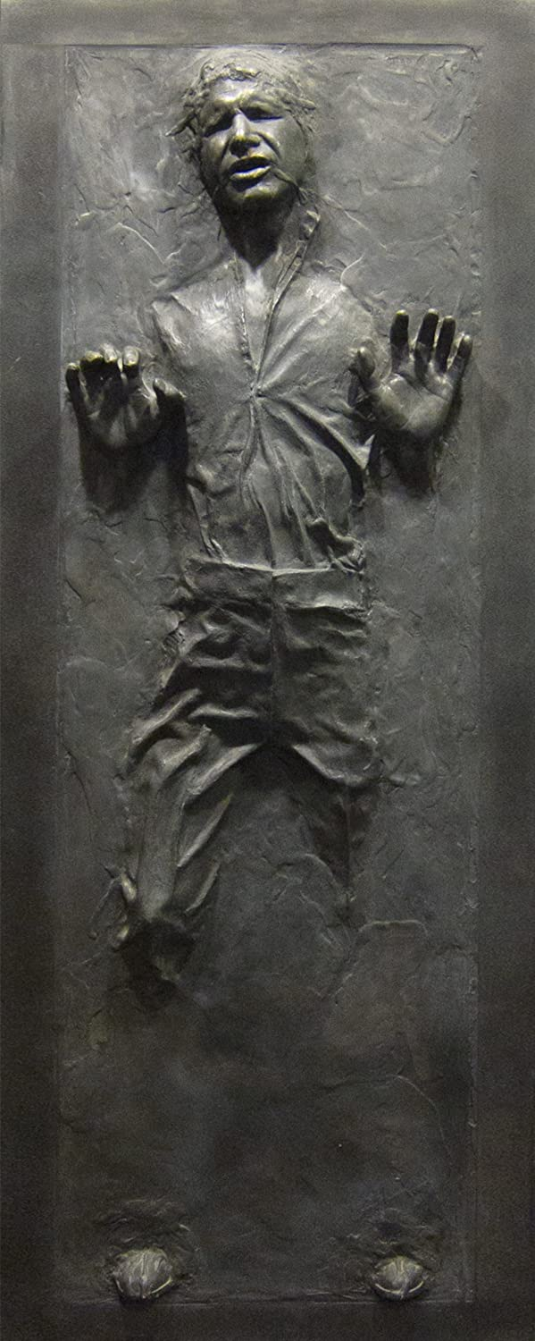 Star Wars Han Solo in Carbonite Star Wars Fathead Life-size Wall Decal Sticker Graphic