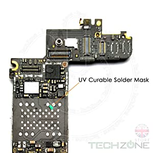 MECHANIC UV Curable Solder Mask Soldering PCB Repair Green Paint 10cc & Plunger