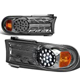Toyota FJ Cruiser Pair of Diamond Cut Smoke Lens LED Turn Signal Lights Lamps
