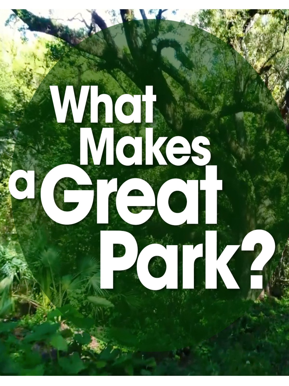 What Makes a Great Park?