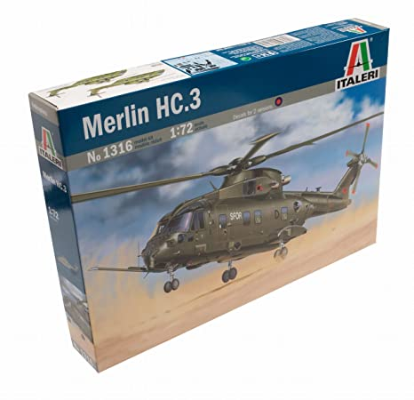 Italeri - I1316 - Maquette - Aviation - Merlin HC 3 - Echelle 1:72
