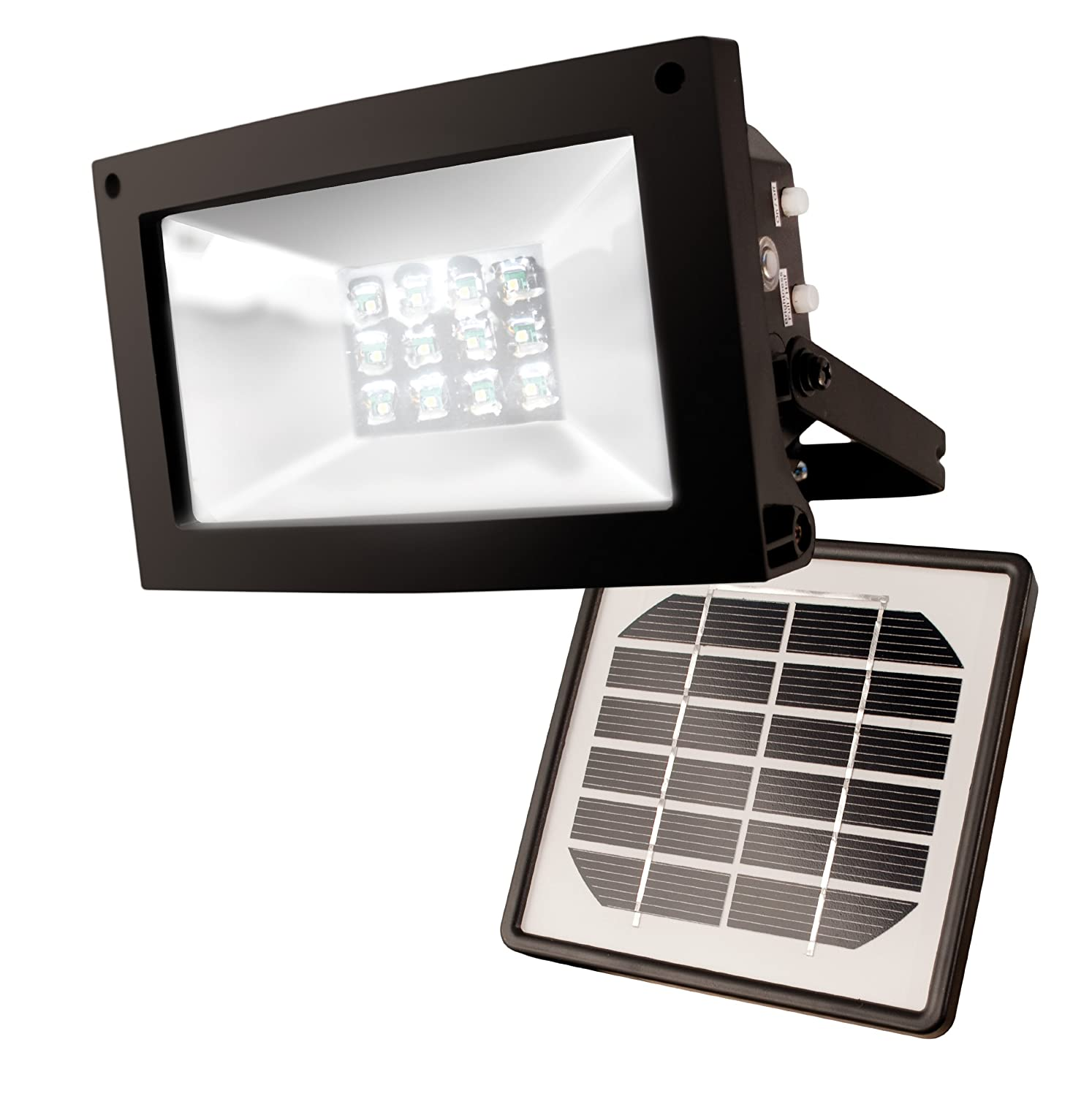 Maxsa Solar-Powered 10 Hour Floodlight $46.04