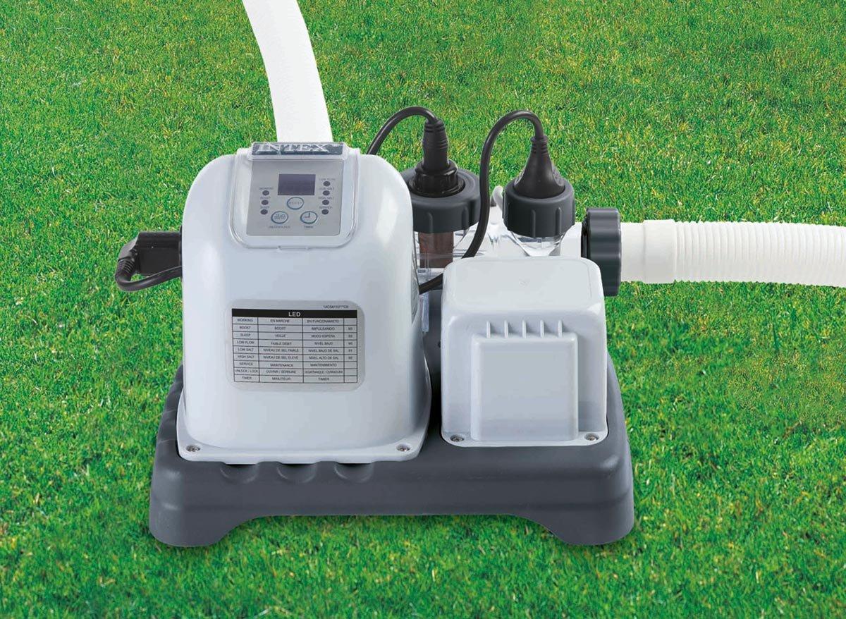 Intex 28664 Krystal Clear Salzwassersystem bis 55.000 l Wasserinhalt  GartenKundenberichte und weitere Informationen