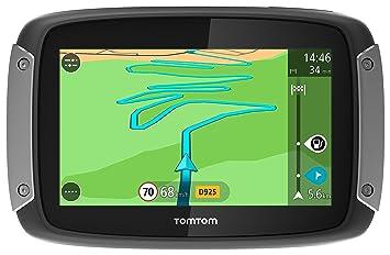 TomTom GPS Moto Rider 40 Europe 23 Cartographie et Trafic à Vie (1GE0.054.00)