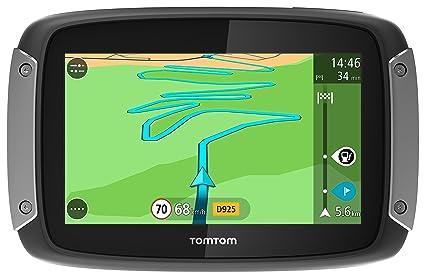 TomTom GPS Moto RIDER 400 Europe 48 Cartographie, Trafic et Zones de Danger à Vie (1GE0.002.02)