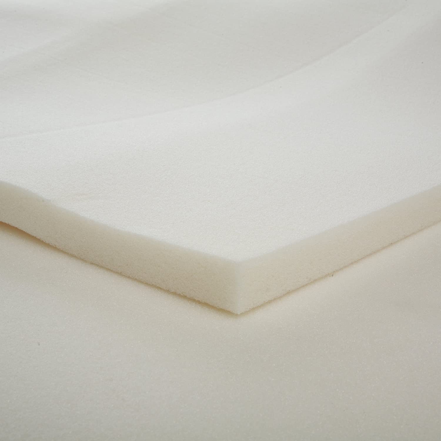Memory foam bed bedding mattress topper pad padding support comfort 1 inch thick Where to buy mattress foam