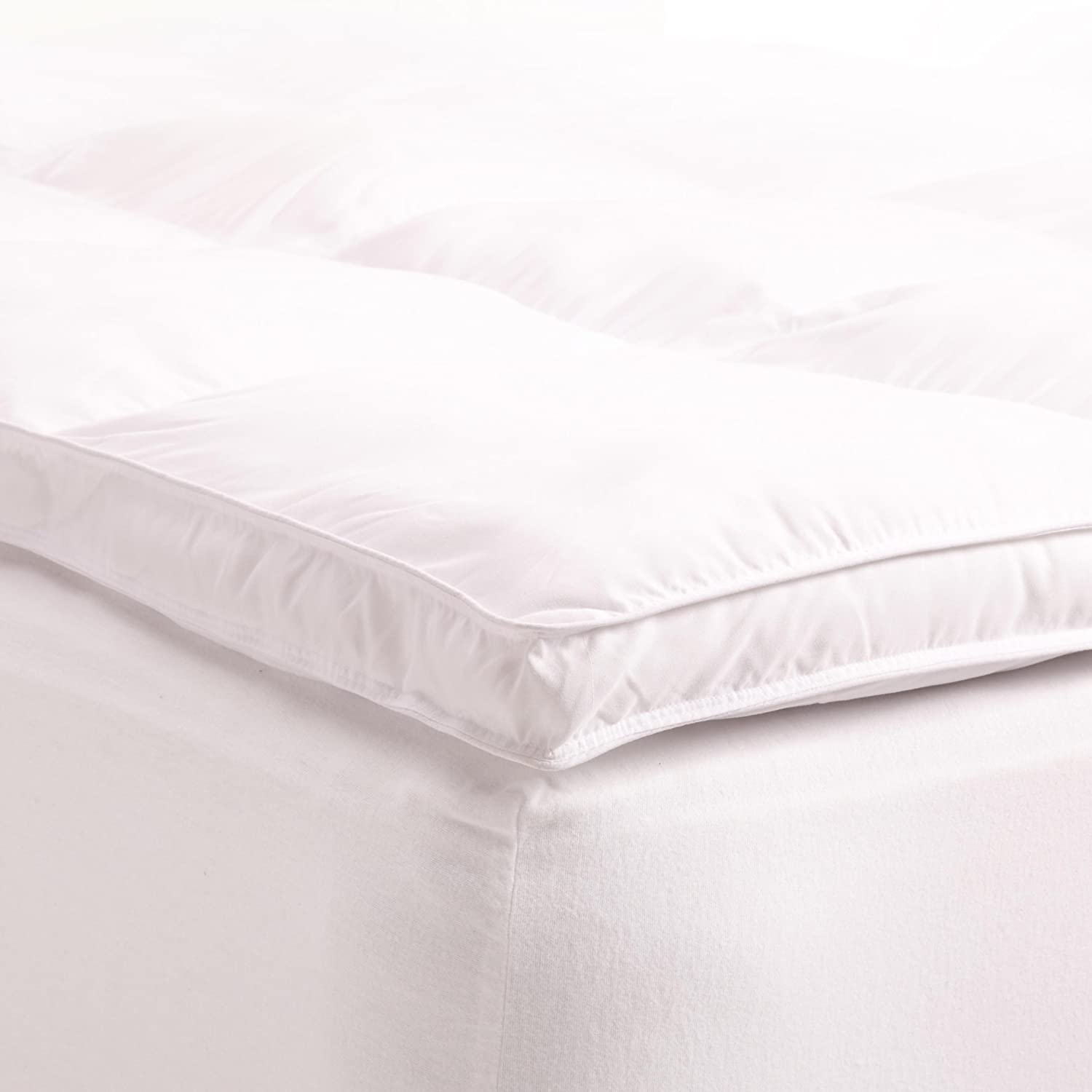Brinkhaus Twin Topper Goose Down Feather Mattress Topper