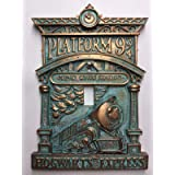 Hogwarts 9-3/4 Light Switch Cover (Aged Patina) (Color: Aged Patina)
