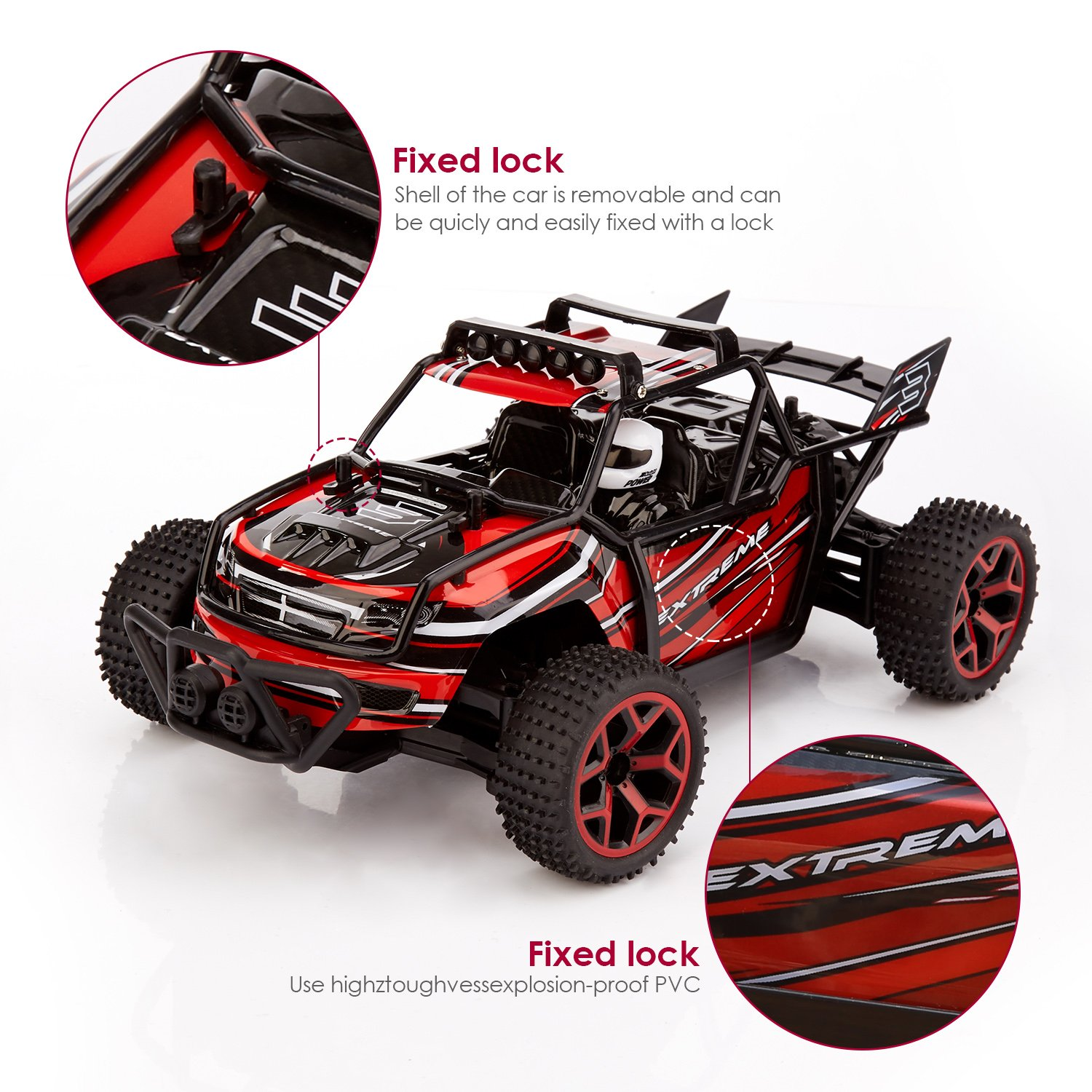 rc car metakoo off road vehicle high speed 20km h 1 18 scale 4×4 product description