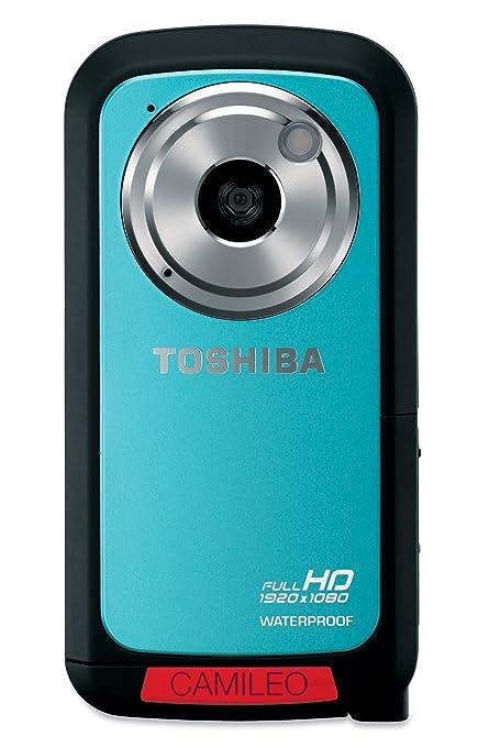 Toshiba Camileo BW10 Caméscope numérique étanche Full HD Zoom 10x 5 Mpix Bleu turquoise