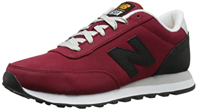 new balance 501 all red