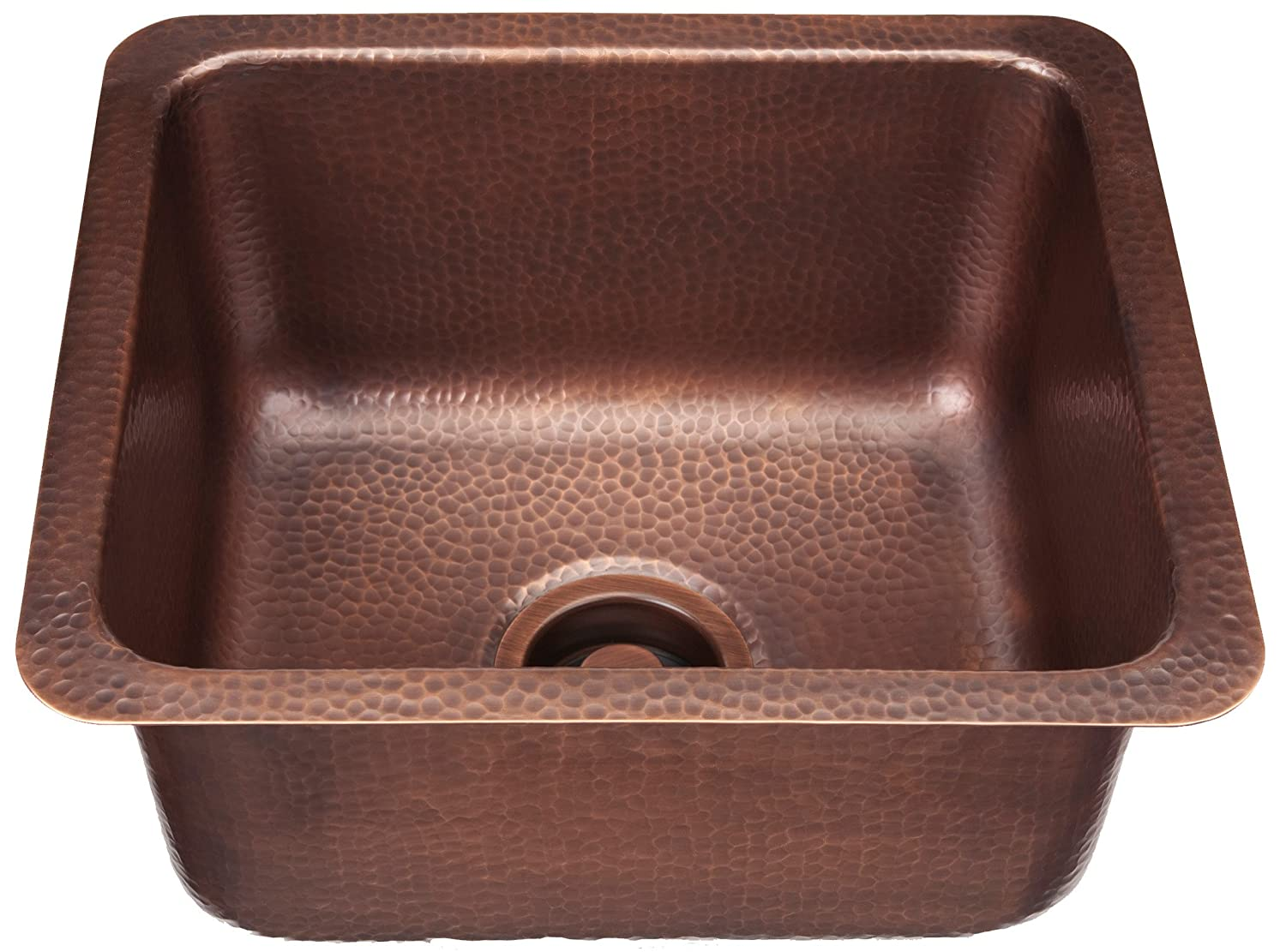 Sinkology Escher Under mount Handmade Pure Solid Copper Sink