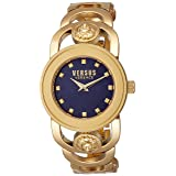 Versus by Versace Women's 'Carnaby Street' Quartz Stainless Steel Casual Watch, Color:Gold-Toned (Model: SCG110016)
