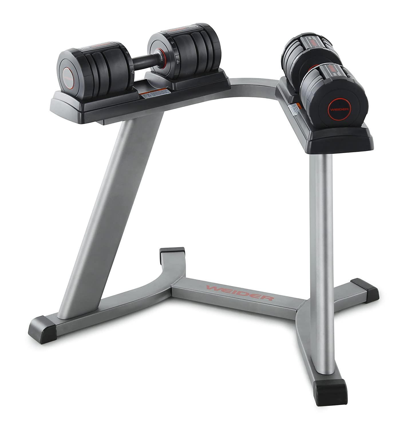 weider adjustable dumbbell set