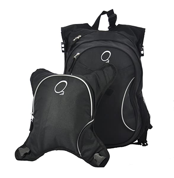 O3 Innsbruck Diaper Bag Backpack with Detachable Cooler - More Colors Available