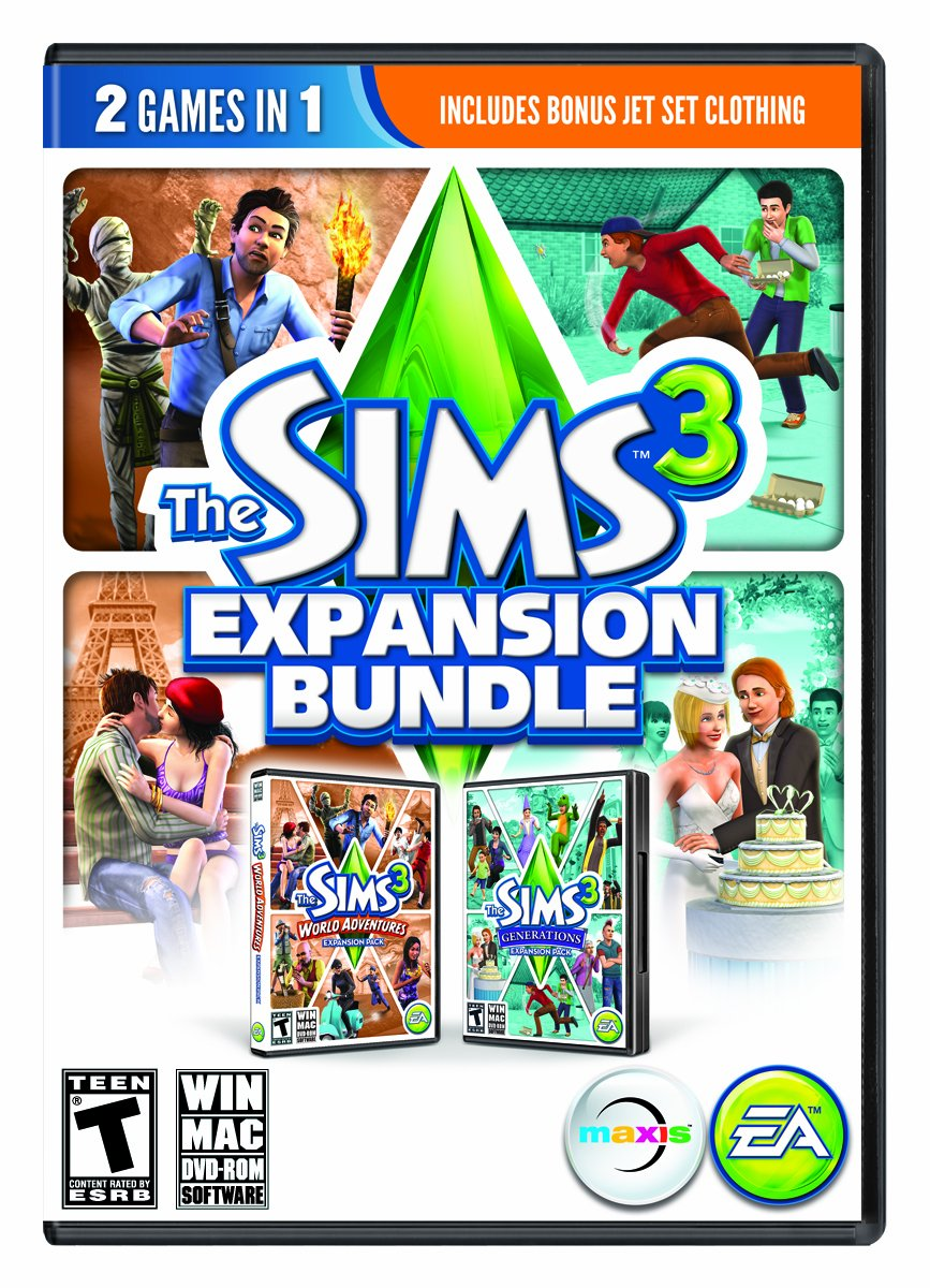 the sims 3 expansion bundle pc mac brand new sealed ebay