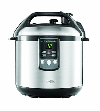 """Breville BREBPR600XL """"Fast Slow Cooker"""" Electric Pressure Cooker Plus Slow Cooker: Amazon.ca: Kitchen & Dining"""