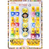 Townley Girl Emoji Nail Polish with File Set (15 Count)