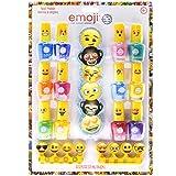Townley Girl Emoji Nail Polish with File Set (15 Count)