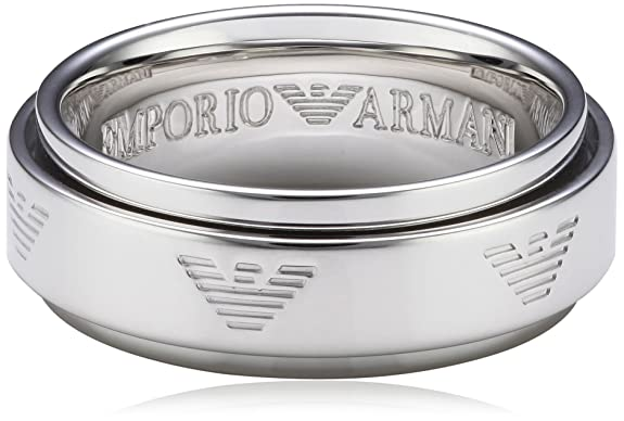 Emporio Armani EG3050040 Unisex 925 Sterling Silver Ring