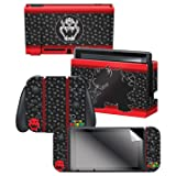 Controller Gear Skin & Screen Protector Set, Officially Licensed by Nintendo - Super Mario Evergreen
