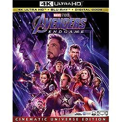 AVENGERS: ENDGAME [4K Ultra HD + Blu-ray]