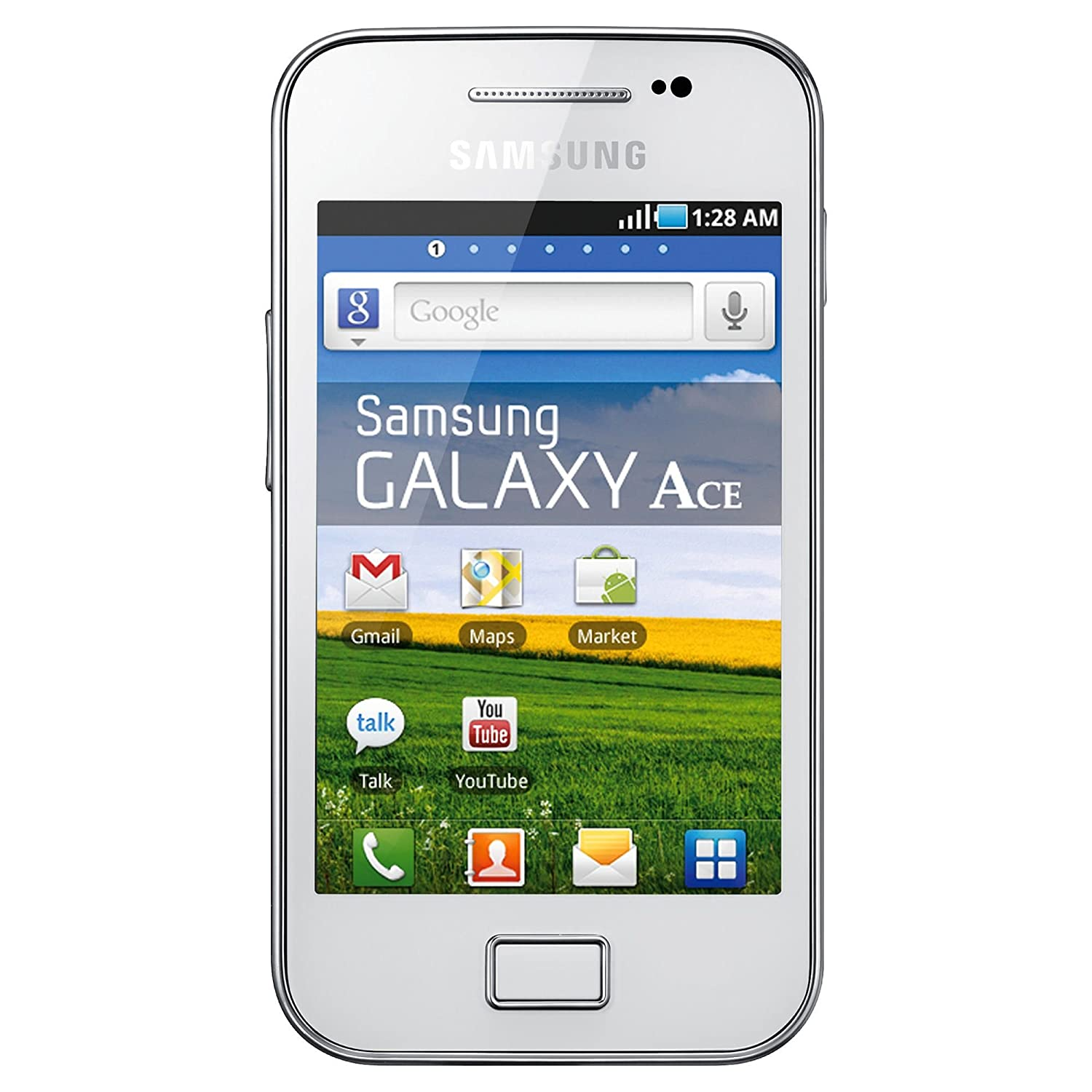 Samsung Galaxy Ace S5831 - Factory Unlocked GSM 3G 900/2100 Smartphone White