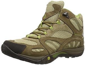 Merrell Azura Mid Waterproof, Chaussures de randonnée tige haute femme - Gris (Castle Rock/Purple)   Commentaires en ligne plus informations