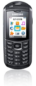 Samsung E2370 Handy 1,77 Zoll schwarz/silber  Kundenbewertung und Beschreibung