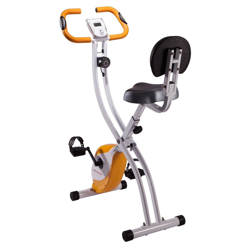 <p>Bicicleta est&aacute;tica de original dise&ntilde;o para practicar deporte en el interior de tu casa</p>