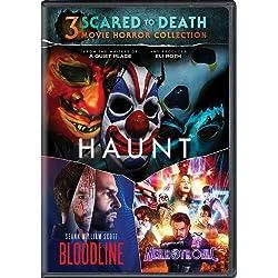 Scared to Death 3-Movie Horror Collection (Haunt / Bloodline / Nekrotronic) [DVD]