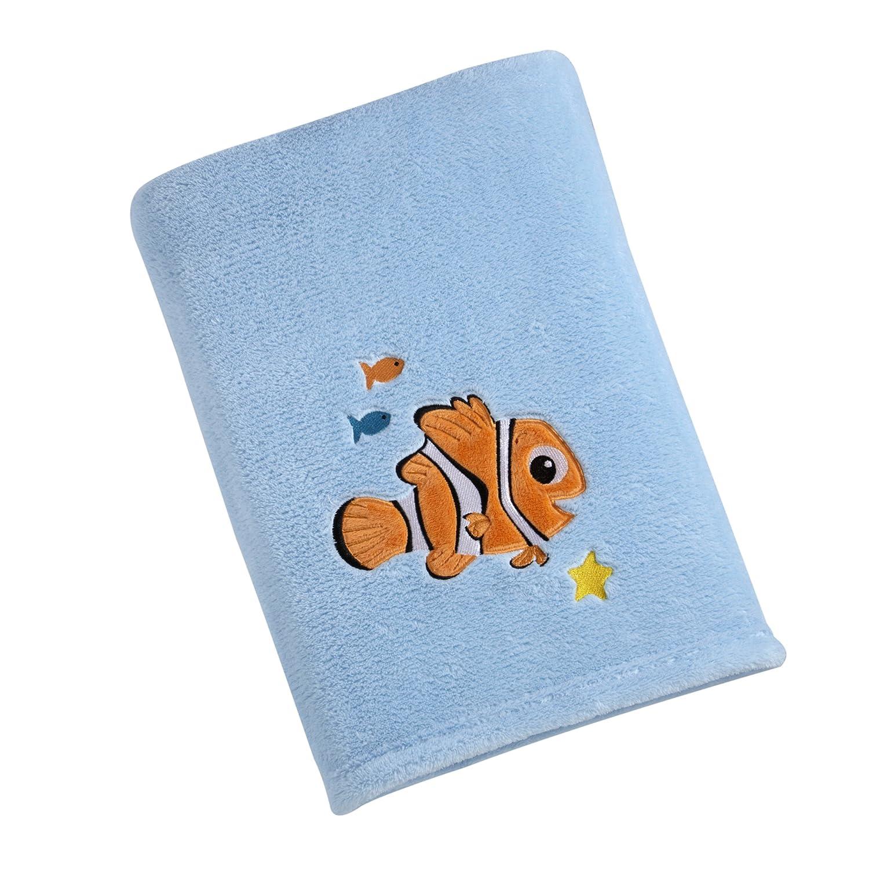 Soft, Plush Finding Nemo Baby and Toddler Fleece Blanket for Disney Fans