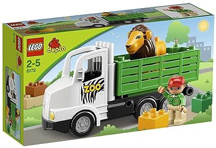 LEGO DUPLO LEGOville - 6172 - Jouet d'Eveil - La Camion du Zoo