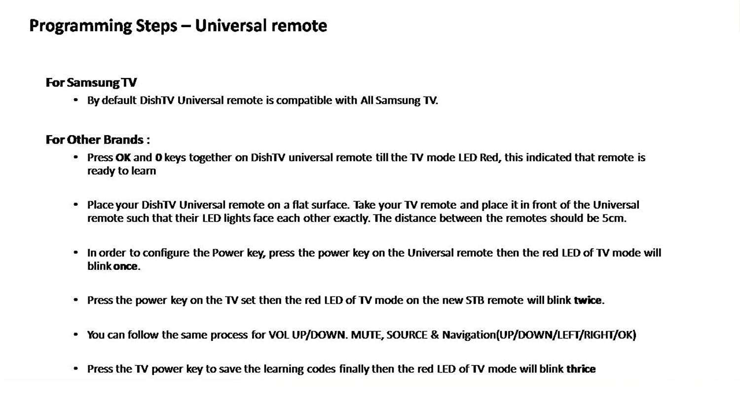 how to set the remote code on bell expressvu