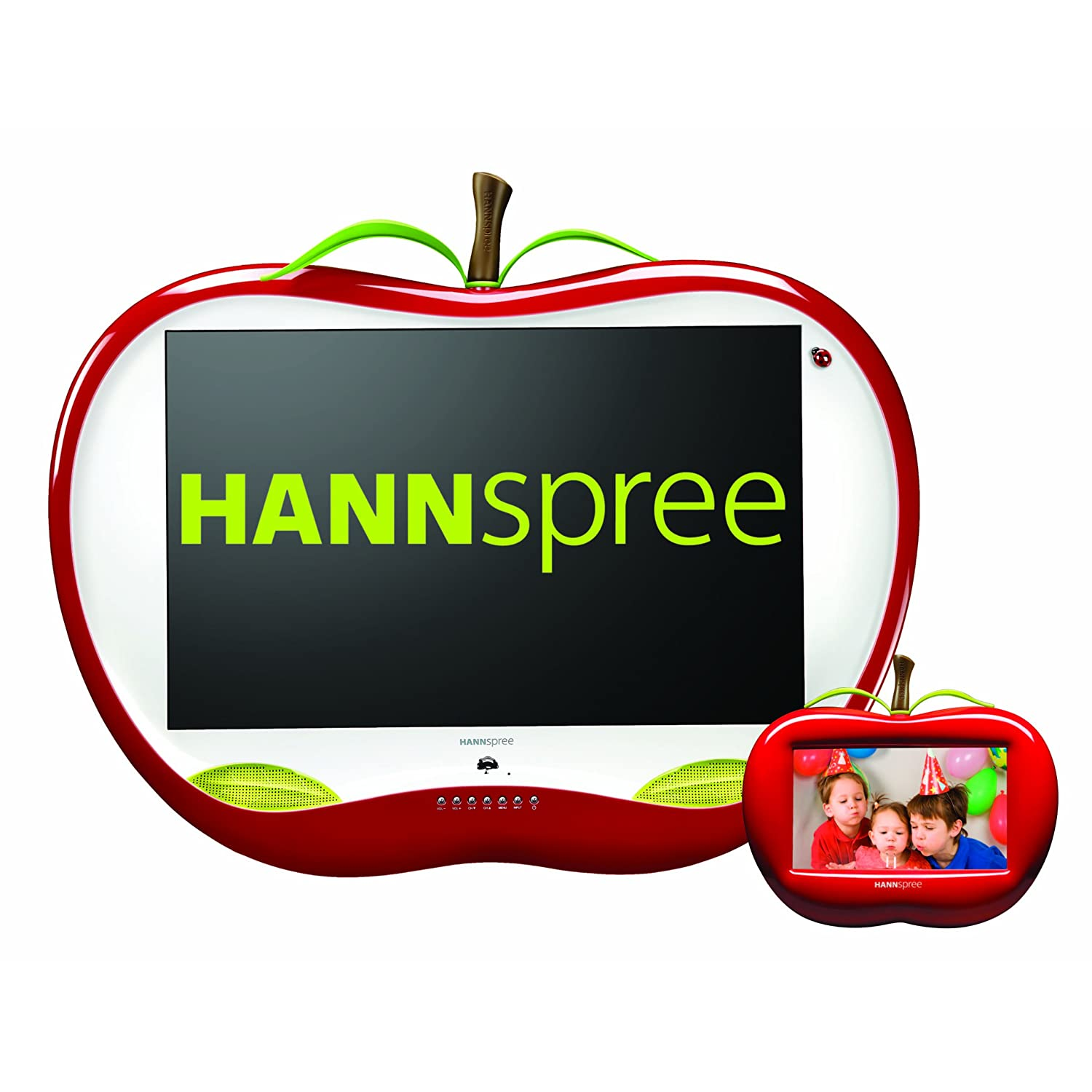 Hannspree ST28FMUR 28-Inch Apple TV with 7-Inch Apple Digital Ph