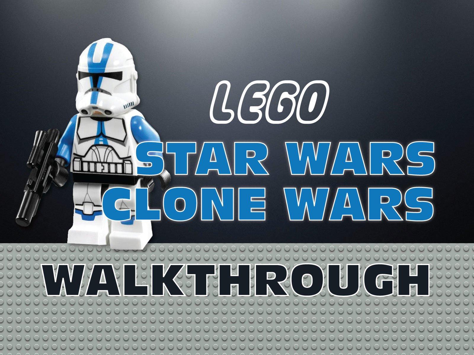 Clip: Lego Star Wars Clone Wars Walkthrough - Season 1