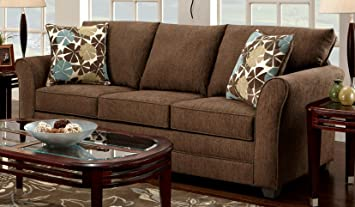 Chelsea Home Furniture Essex Sofa, Upholstered in Council Fudge