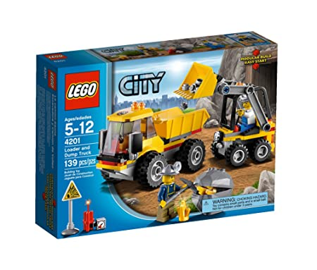 Lego City - 4201 - Jeu de Construction - Le Camion-Benne