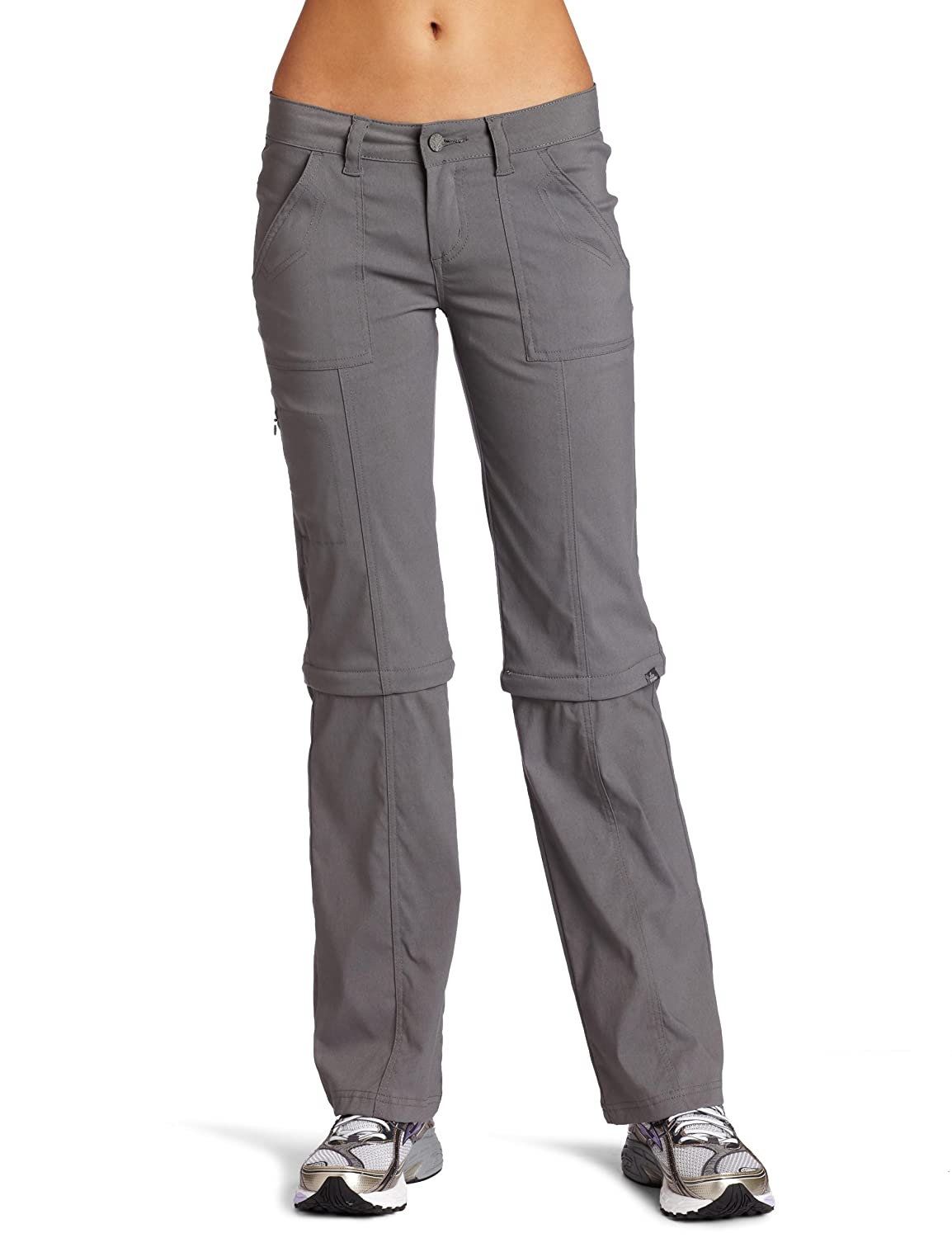 Convertible cargo pants for women