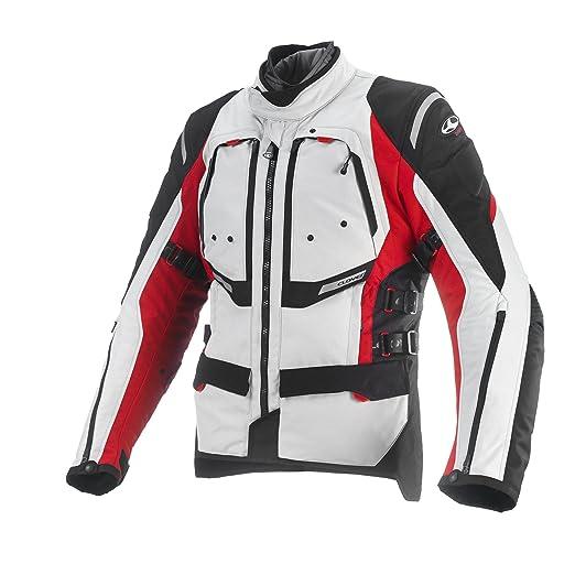 Clover 99170665_ 03GTS de 3Veste moto airbag compatible, rouge, Taille M