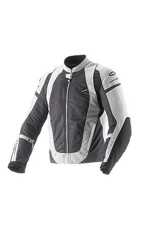 Clover 99177614_ 04AirJet Veste moto-3, noir/blanc, Taille L