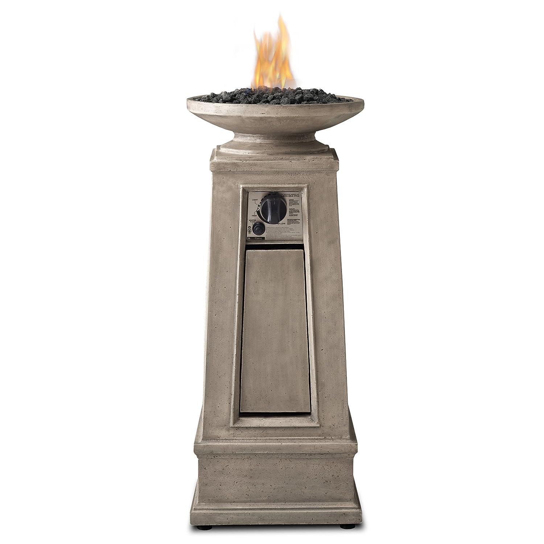Real Flame Corsica Propane Fire Column